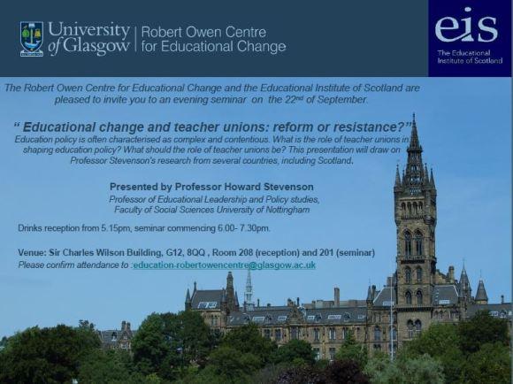Glasgow seminar